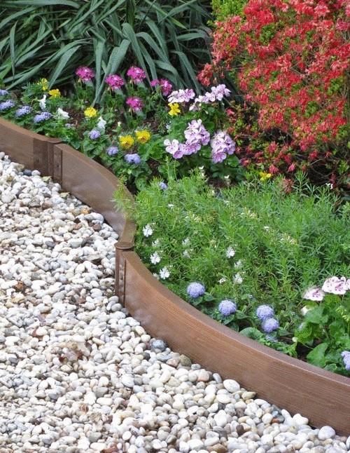 садовый бордюр пластиковый