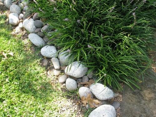 Бордюр для клумбы своими руками из камней