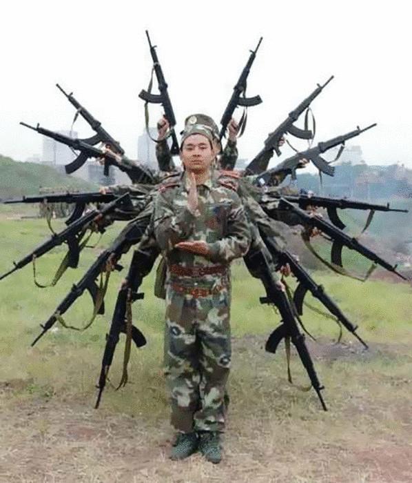 Индийский солдат.