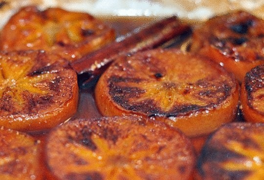 Запеченная хурма с имбирем — удивительно полезный и вкусный десерт