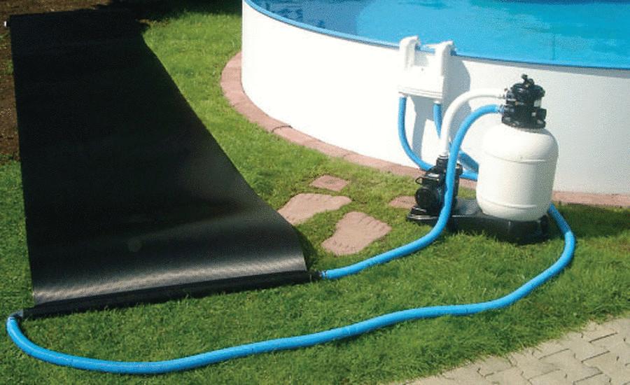 Обогрев бассейна на даче 105