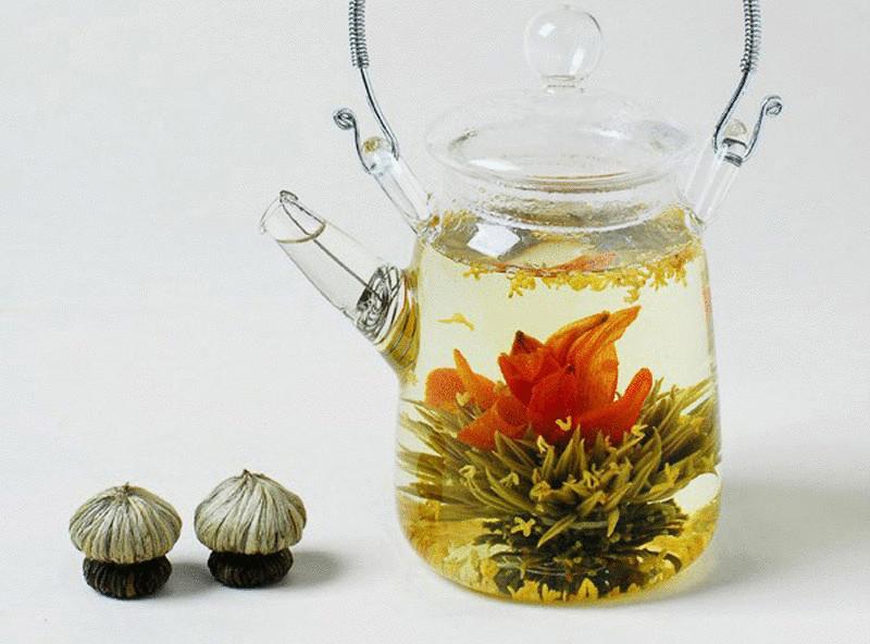 Невероятно красивый китайский чай-цветок