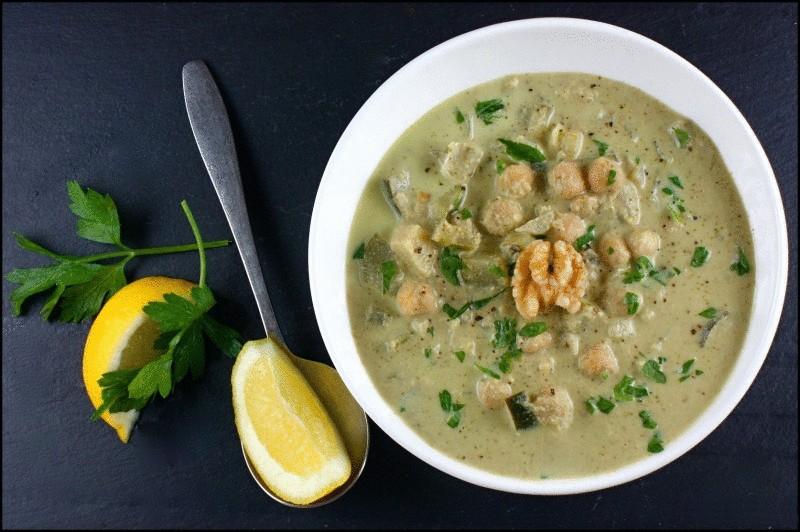 Суп с лисичками и лесными орехами и еще 2 вкуснейших рецепта