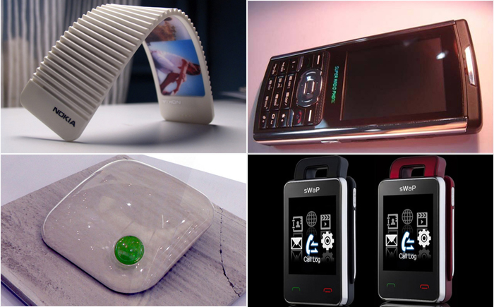 12 models of phones with the most bizarre design