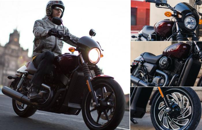 Street 500 - байк для начинающих от Harley-Davidson.