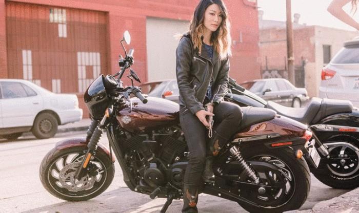 Harley, с которым справится даже слабая девушка.