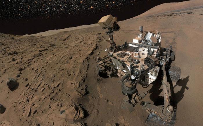 Марсоход Curiosity («Кьюриосити»)
