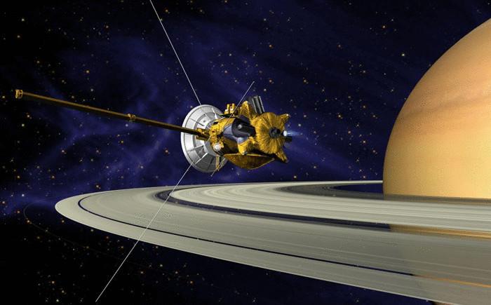 Косический аппарат Cassini- Huygens («Кассини-Гюйгенс»)