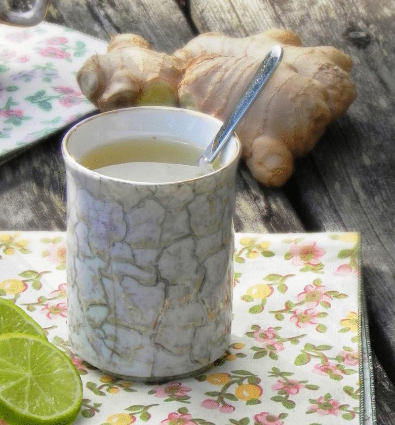 10 рецептов имбирного чая