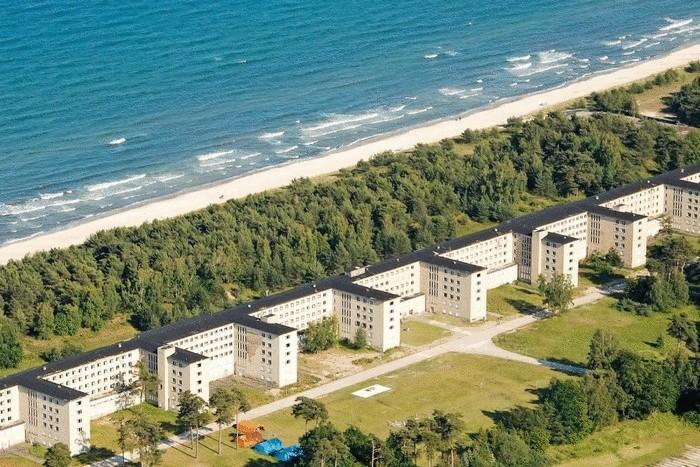 Прора – главный морской курорт Нацистской Германии