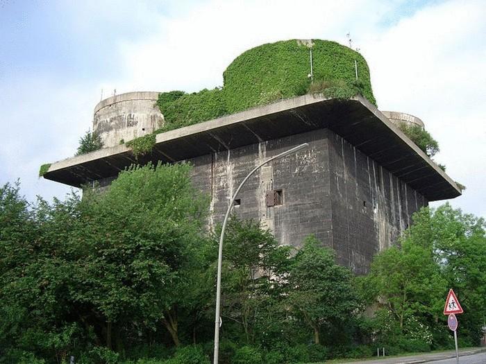 Energy Bunker: из нацистской зенитной башни в зеленую электростанцию