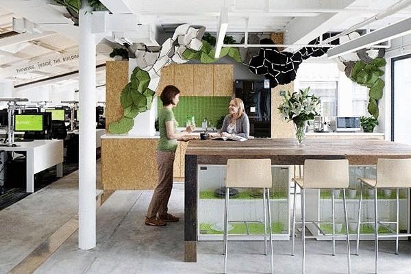 Зелёный офис в Шанхае