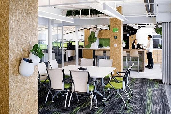 Самый зелёный офис
