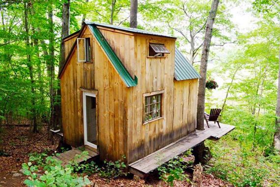 лесной домик за 4000$