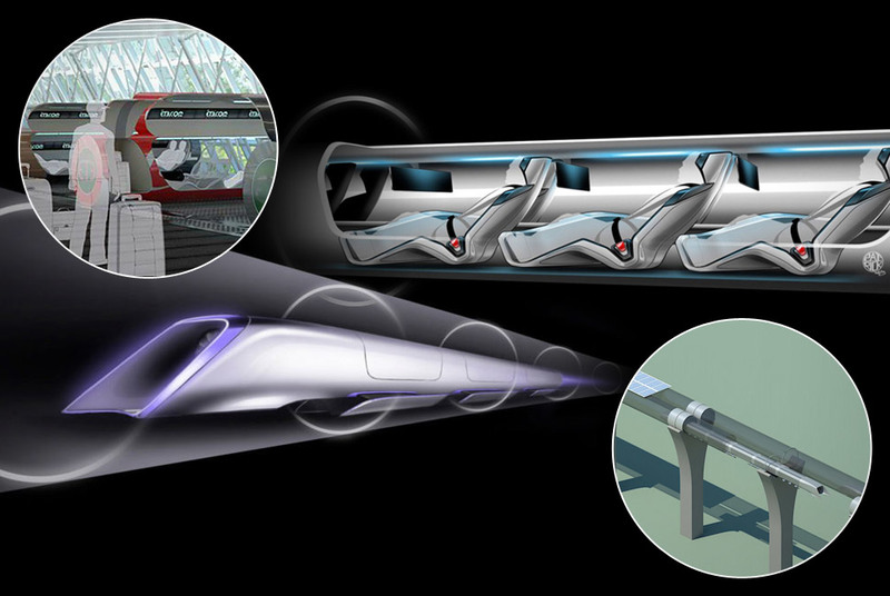 Hyperloop Элона Маска — революция не только в транспорте