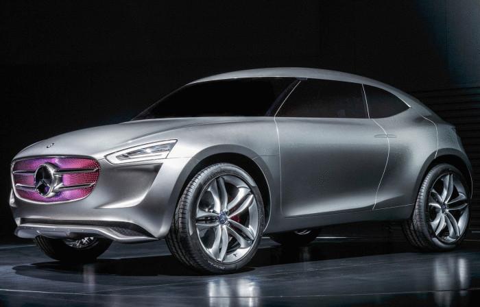 Mercedes-Benz Vision G-Code - самый зелёный концепт бренда.