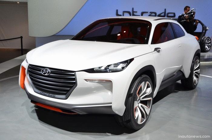 Hyundai Intrado - авто из углеволокна.