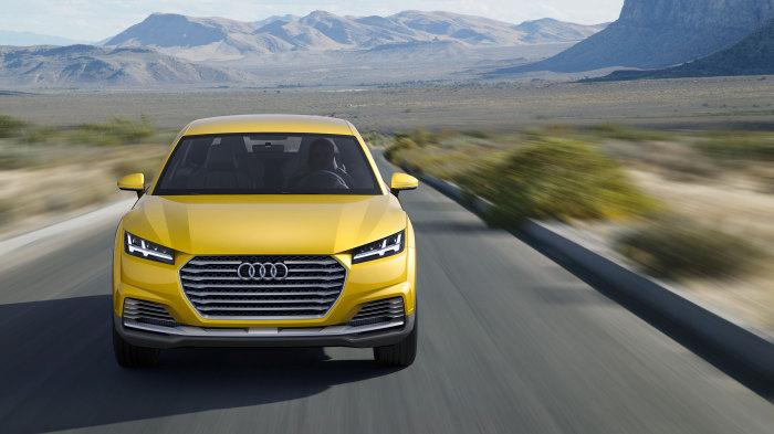 ��������� Audi TT offroad.