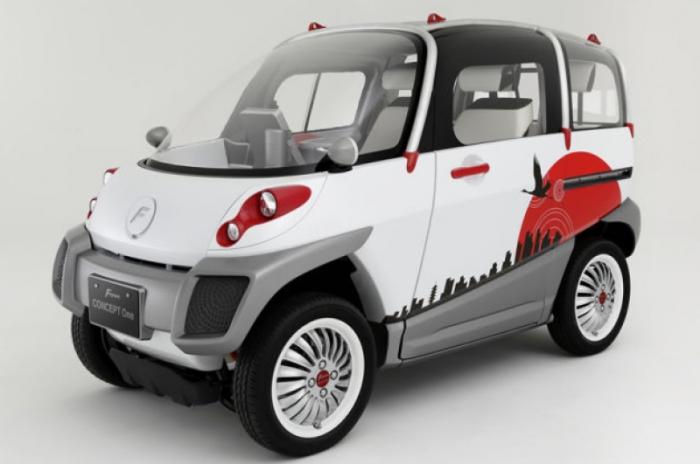Автомобиль-амфибия FOMM Concept One