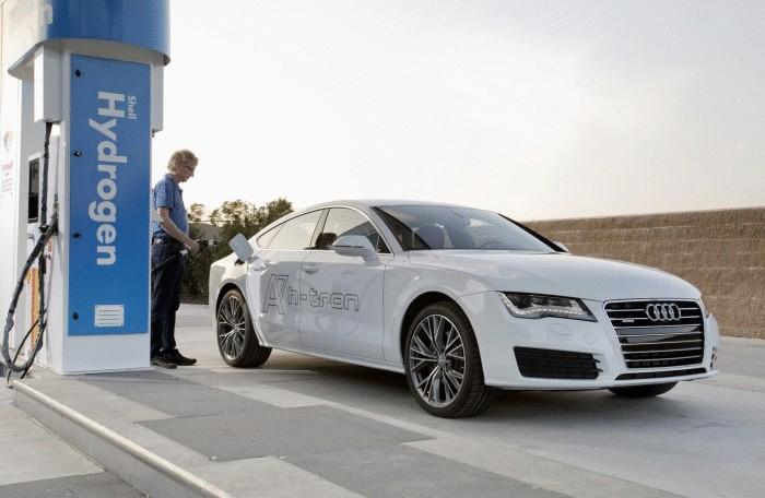 Водородный Audi A7 Sportback h-Tron.