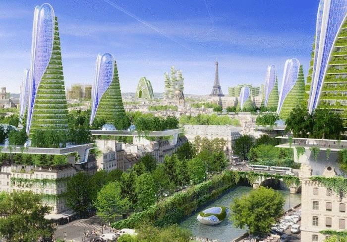 «2050 Paris Smart City» - проект строительства в Париже экологических башен.