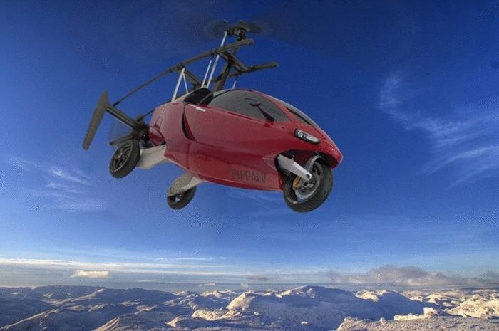 PAL-V One – реальный автомобиль, который может взлететь над пробкой