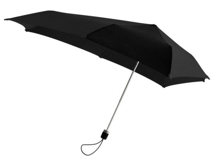 Очень крепкий зонт.