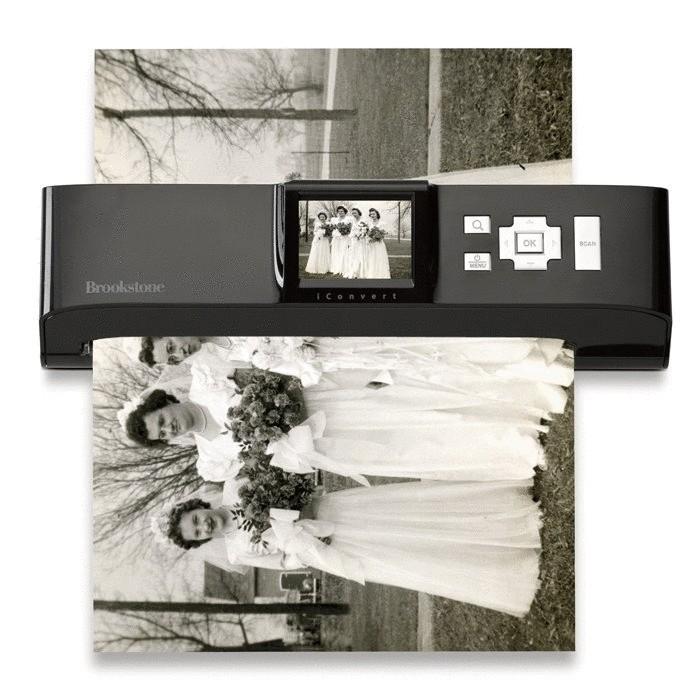Сканер, который может отцифровать снимок без подключения к компьютеру.