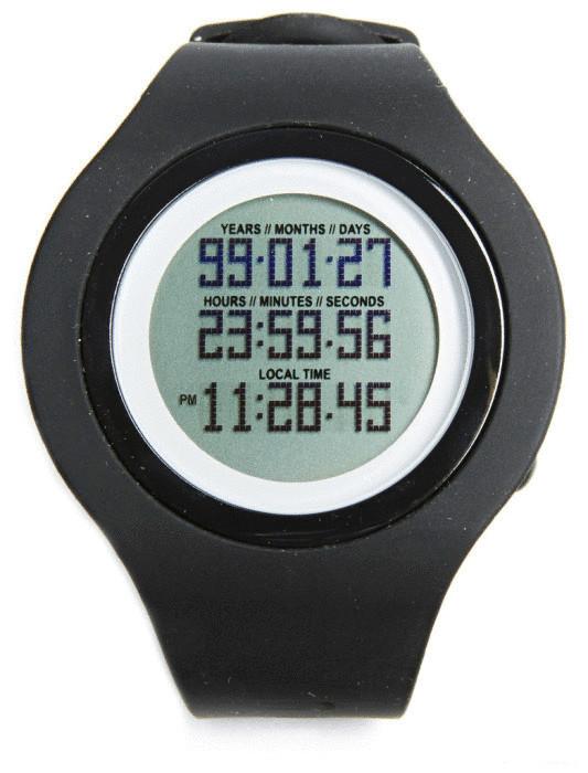 Часы, которые показывают, сколько их владельцу осталось жить.