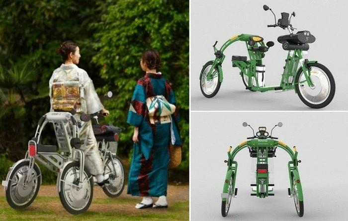 Грузовой электрический велосипед