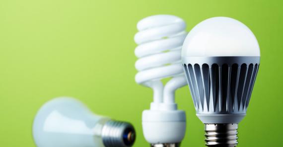 светодиодные, ртутные или обычные лампочки