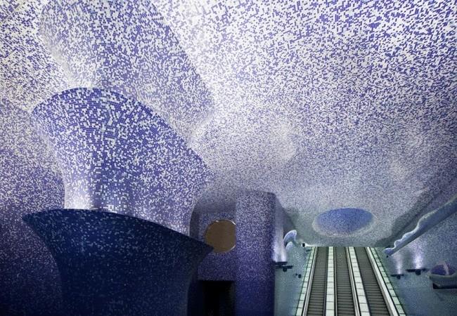 7 самых красивых метрополитенов мира
