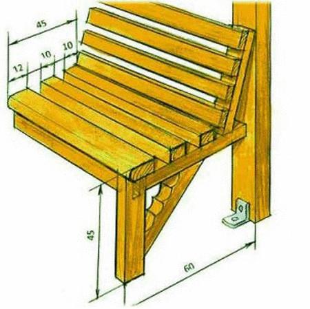 Столы и скамейки для беседок своими руками