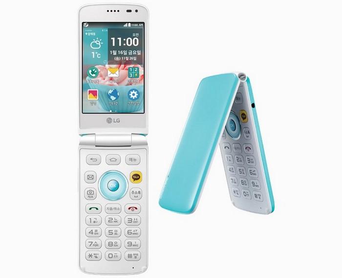 LG Ice Cream – неожиданный телефон-раскладушка с тремя экранами