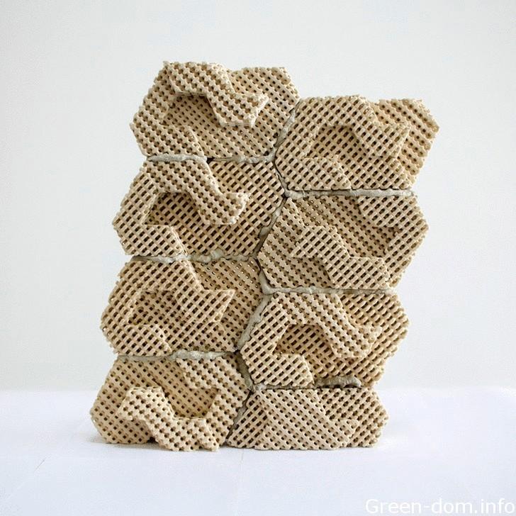 Напечатанный на 3D-притрере кирпич охладит ваш дом