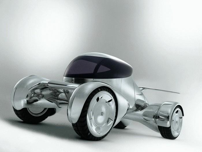 Peugeot Moonster - городской транспорт будущего.