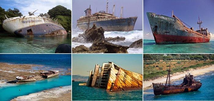 Затонувшие корабли на которых можно
