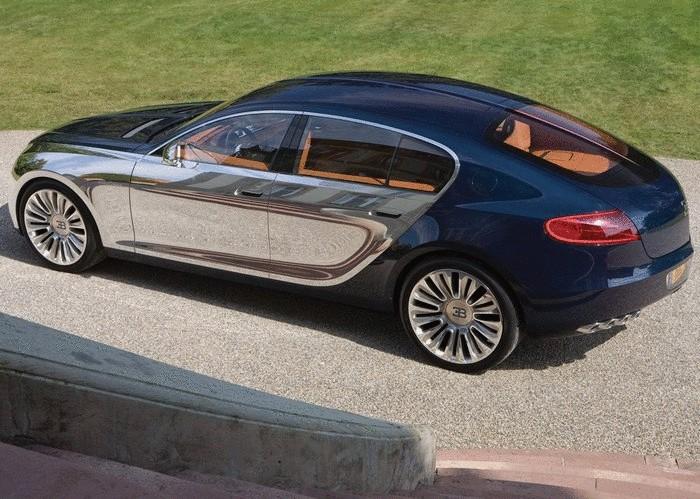 Концепт Bugatti, который мог стать самым быстрым седаном