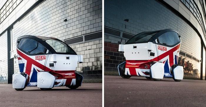 Очень британская машина: миниатюрное беспилотное авто LUTZ Pathfinder