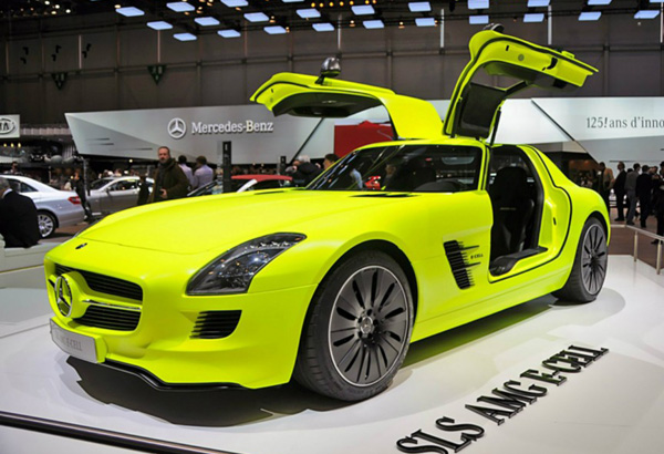 Mercedes Benz SLS Electric Gullwing E-Cell