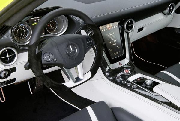 Mercedes Benz SLS Electric Gullwing E-Cell