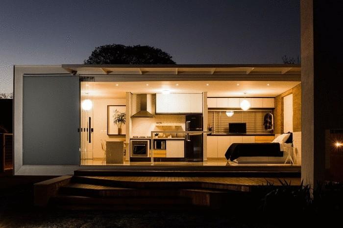 Дом от бразильского архитектора Alex Nogueira.