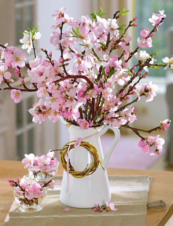 Принесите в дом пару веток, и скоро вы будете любоваться первыми весенними цветами http://econet.ru/category/usadba